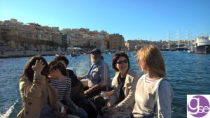 Students at the Three Cities - study English in Malta