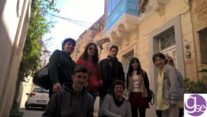 Mdina old capital city students learning English in Malta