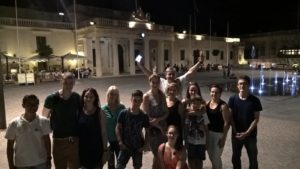 international students studying English in Malta with Gateway School of English in Valletta