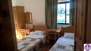 Gateway School of English residence twin room accommodation